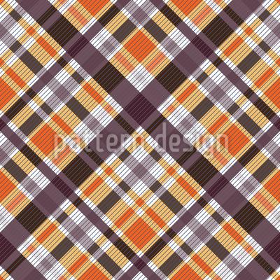 Modern Hunting Tartan Pattern Design