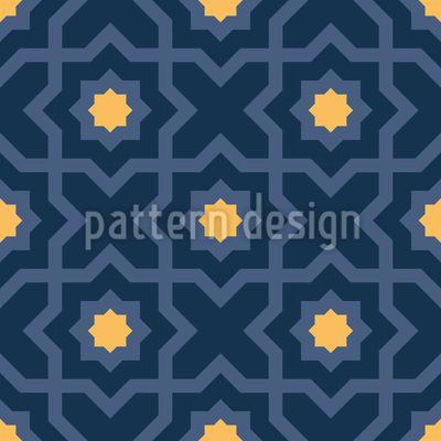 Arabischer Nachthimmel Vektor Design