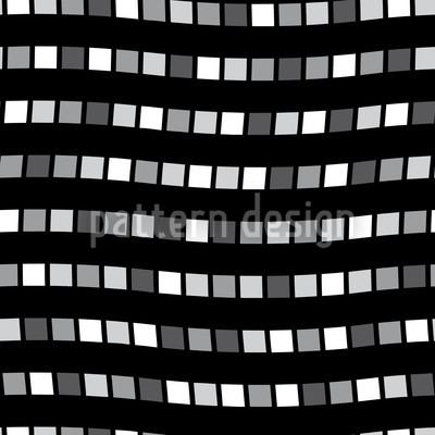 City Whisper In Black Repeat Pattern