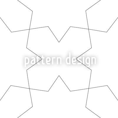 Oblivion Weiss Vektor Muster