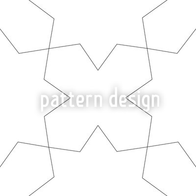 Oblivion White Vector Pattern