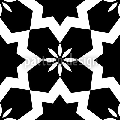 Stars Black and White Vector Design