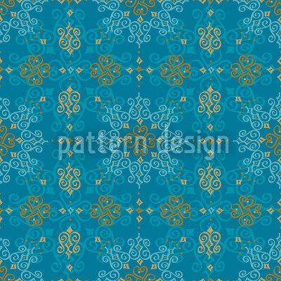 Orientalia Seamless Vector Pattern Design