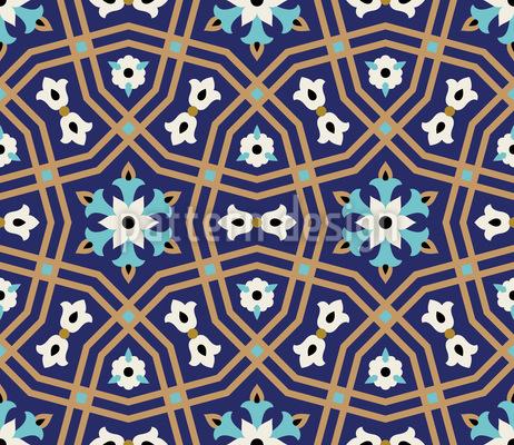 Medina Lattice Design de padrão vetorial sem costura