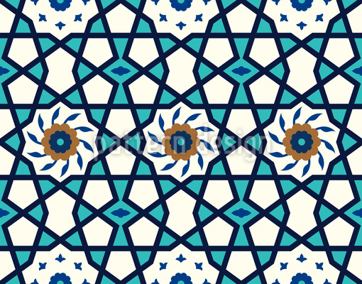 Stern der Medina Rapportmuster