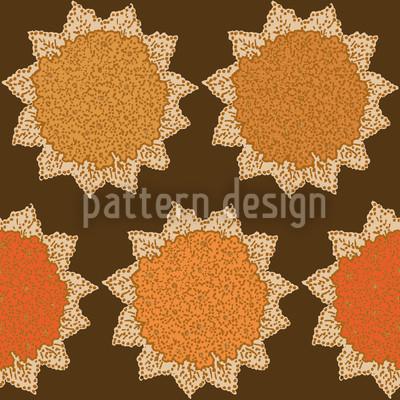 Hydrangea Nahtloses Vektor Muster