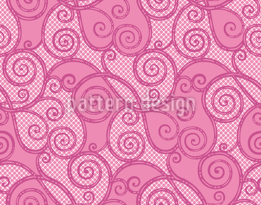 Curly Sue Pattern Design