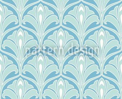 Aquaflora Repeat Pattern
