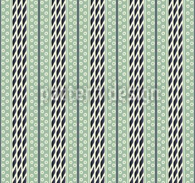 Pastellgrüne Streifen Vektor Muster