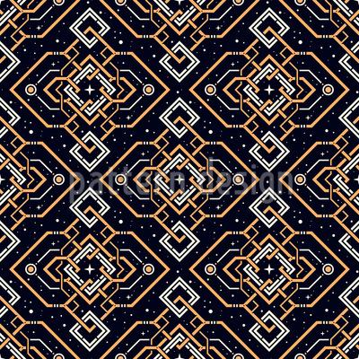 Mysterious Artifact Seamless Pattern