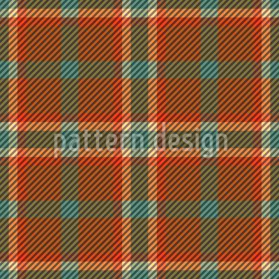 Ians Kilt Design de padrão vetorial sem costura