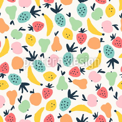 All Sorts Of Fruits Pattern Design