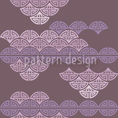 Romantisches Wolkenmeer Vektor Design