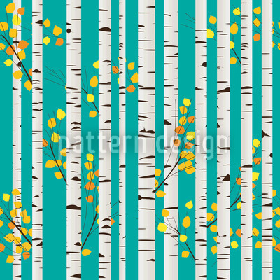 Olgas Birch Grove Repeat Pattern