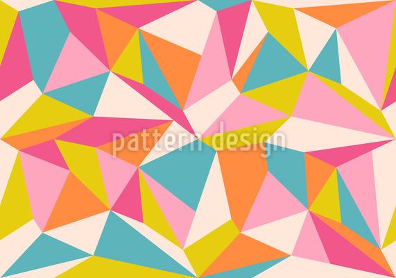Polygons Seamless Vector Pattern Design