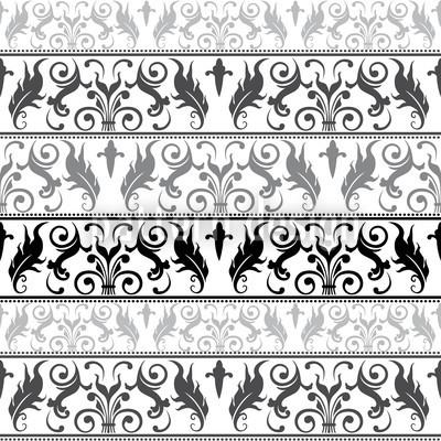 Encora Design de padrão vetorial sem costura
