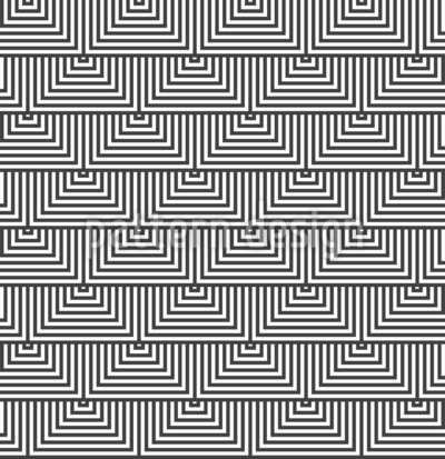 Triângulos Alternativos Design de padrão vetorial sem costura