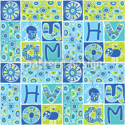 Patchwork Pet Fun Design Pattern