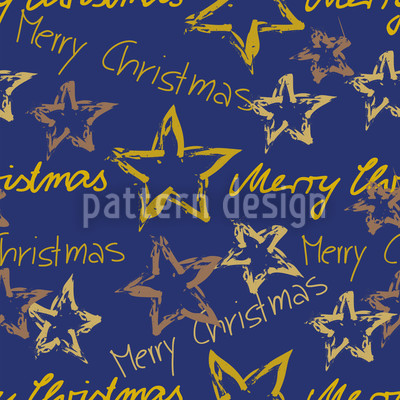 Merry Christmas Blue Repeat