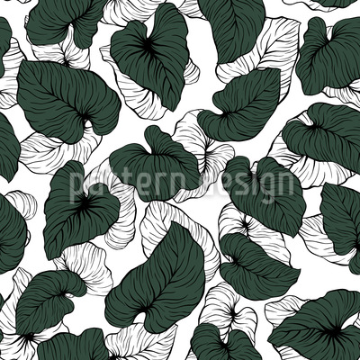 Philodendronblätter Vektor Design