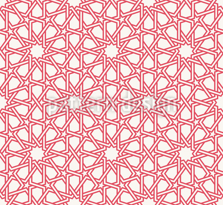 Sacred Geometry Seamless Vector Pattern Design