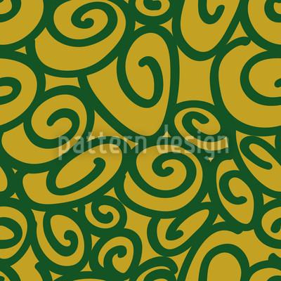 Anfang Und Ende Grün Muster Design