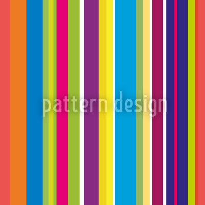 Happy Stripes Repeating Pattern