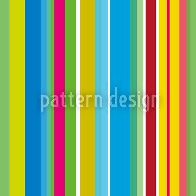 Fresh Stripes Seamless Vector Pattern Design