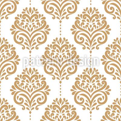 Repetição floral Design de padrão vetorial sem costura