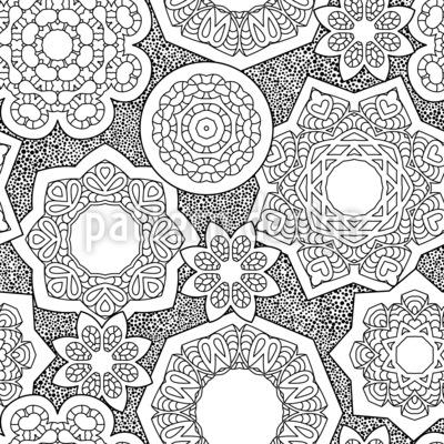スイミングロータス シームレスなベクトルパターン設計