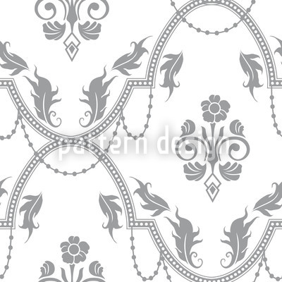 Rocko Bianco Seamless Vector Pattern Design