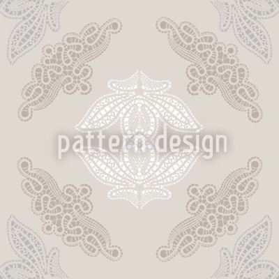 Lacy Ida Beige Design Pattern