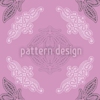 Spitzen Ida Violett Vektor Ornament