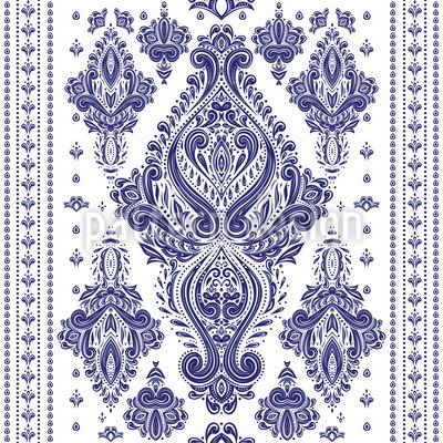 Royal Baroque Seamless Vector Pattern Design