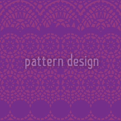 Alhambra Purpur Nahtloses Vektor Muster