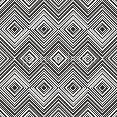 Zigzag Lines Seamless Vector Pattern Design