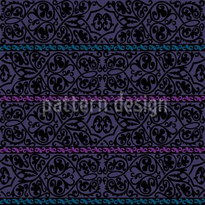 Tiziano Violett Nahtloses Vektor Muster