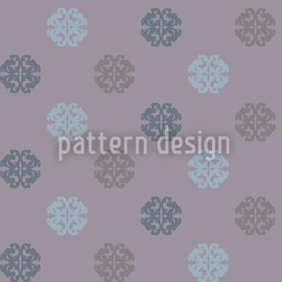 Perhaps Violets Seamless Vector Pattern Design
