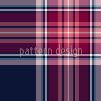 Check Tartan escocês Design de padrão vetorial sem costura