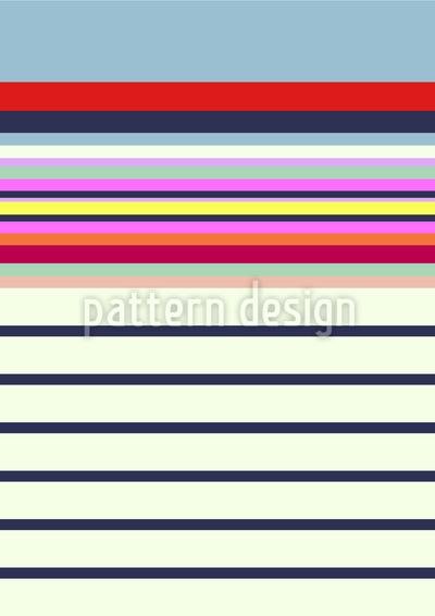 Scarf Stripe Seamless Vector Pattern Design