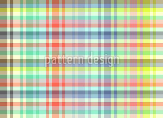 Light Tartan Picknick Seamless Vector Pattern Design