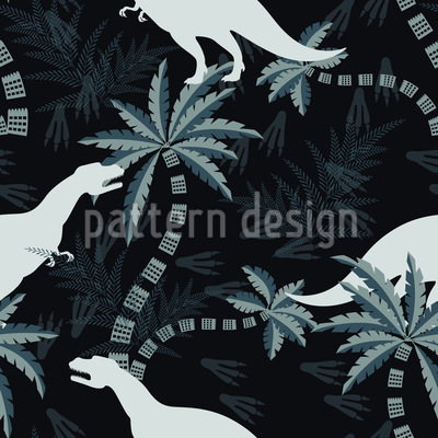Giant Lizard Pattern Design