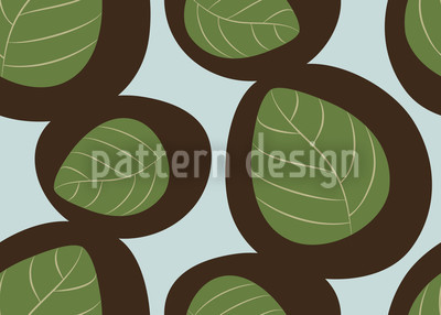 Vintage Nature Seamless Vector Pattern Design
