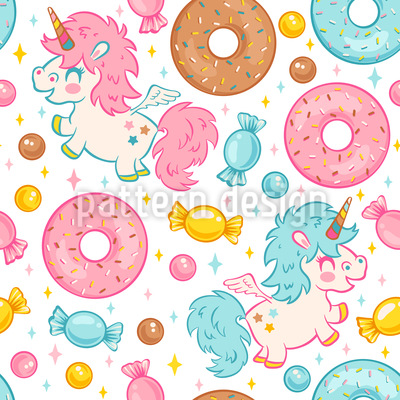 Unicorn Dream Pattern Design