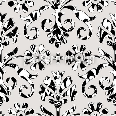 Hinter Den Kulissen Muster Design