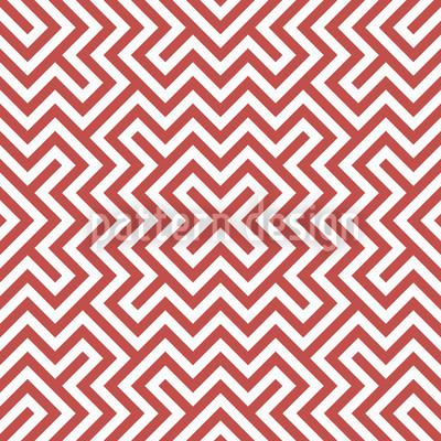 Im Zentrum Rot Vektor Muster