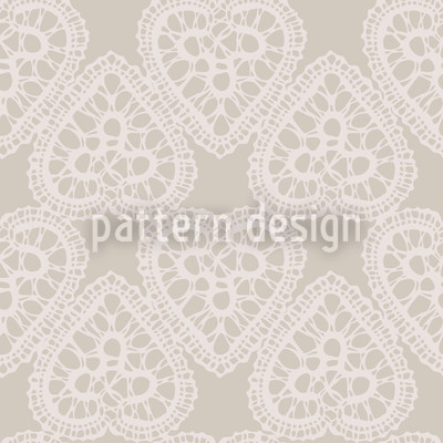 Grandmas Hearts Pattern Design