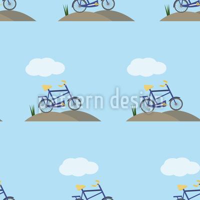 Fahrrad Und Wolke Rapport