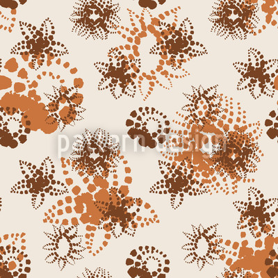 Magic Flower Repeating Pattern