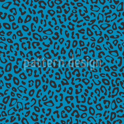 Simple Leopard Seamless Vector Pattern Design